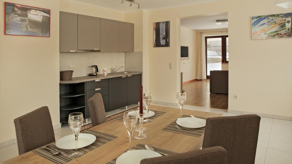 apartament z aneksem kuchennym lądek zdrój